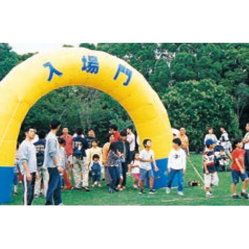 エアアーチ8m(半円)