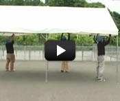 集会用テント ブルドックセーフティー